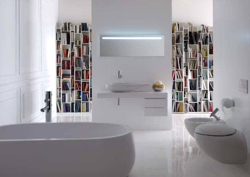 Vasca Da Bagno Freestanding Dwg : Vasca da bagno centro stanza in solid surface sentec con scarico